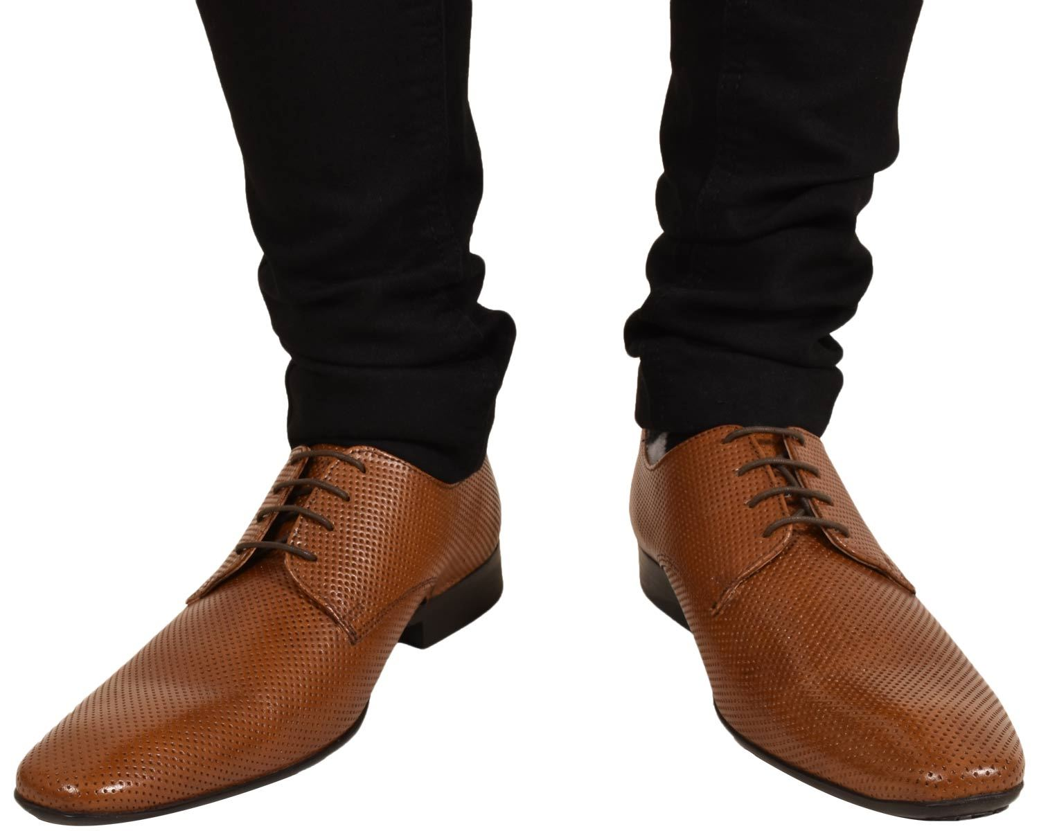 Mens-UK-Style-Leather-Lining-Formal-Office-Wedding-Smart-Work-Brogue-Shoes thumbnail 17