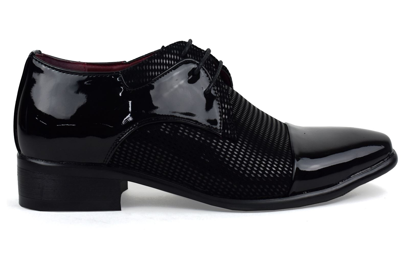 Mens-UK-Style-Leather-Lining-Formal-Office-Wedding-Smart-Work-Brogue-Shoes thumbnail 71