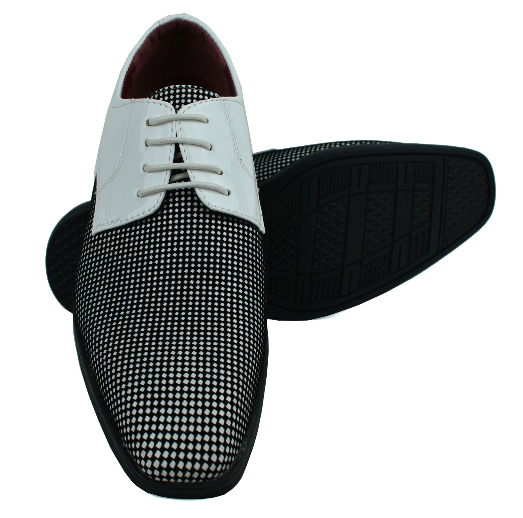 Mens-UK-Style-Leather-Lining-Formal-Office-Wedding-Smart-Work-Brogue-Shoes thumbnail 99