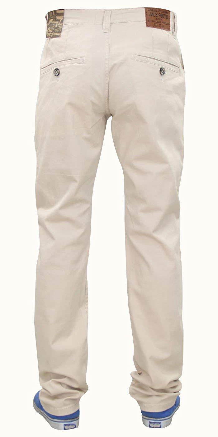 Men-Chinos-Regular-Fit-Jeans-Cotton-Stretch-Casual-Pants-Trousers-All-Waist-Size thumbnail 14
