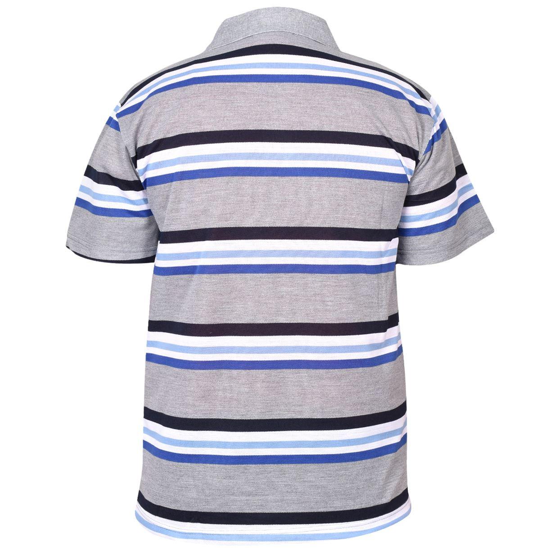 Mens-T-Shirts-Yarn-Dyed-Strip-Pocket-Polo-Shirt-Top-Multi-Colour-Size-M-3XL thumbnail 48