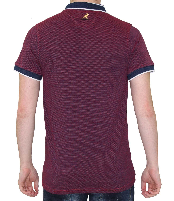 Shirt Top Kangol New Men/'s Joshua Designer 100/% Cotton Pique Polo Summer T