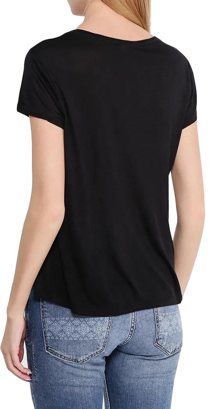 Senoras-Brave-Soul-Camiseta-manga-Hotfix-STUD-diseno-de-impresion-de-la-Tapa-Para-mujeres-Verano-Top miniatura 9