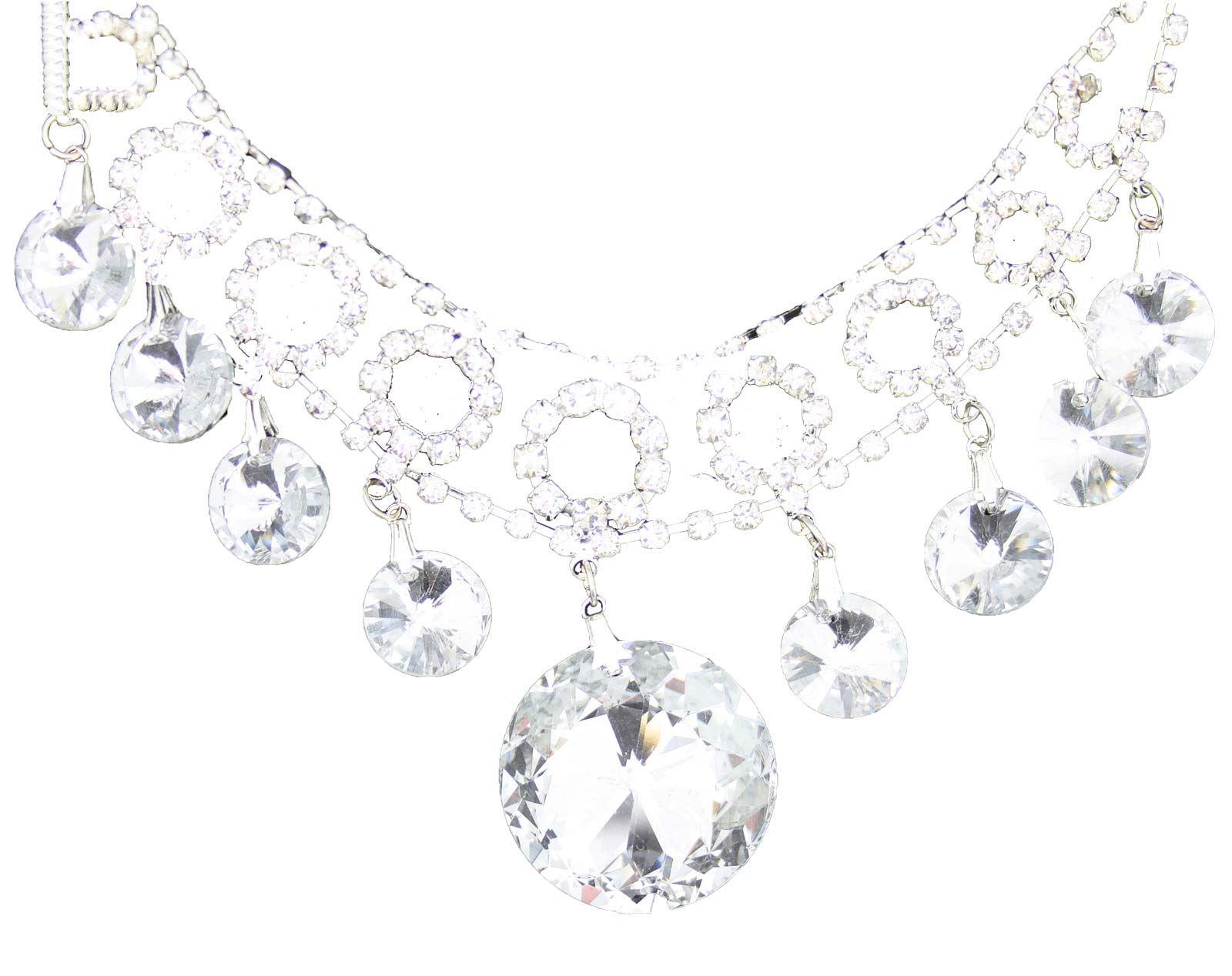 True-Face-Ladies-Women-039-s-Elegant-Earrings-Necklace-Set-Metal-Alloy-Jewellery thumbnail 16