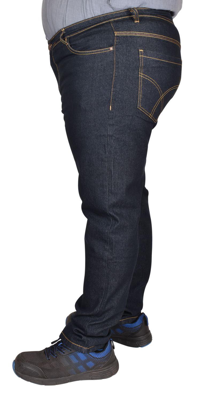 Men-Jeans-Straight-Leg-Stretch-Denim-Trouser-Pants-All-Waist-Big-Tall-King-Sizes thumbnail 9