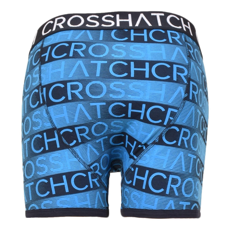 thumbnail 78 - Mens Crosshatch Boxers 3 Pack Shorts Underwear Underpants Trunks Multipack Sets