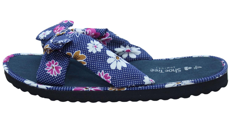 Ladies-Mule-Hawaiian-Floral-Womens-Beach-Slipper-Slip-on-Shoes thumbnail 12