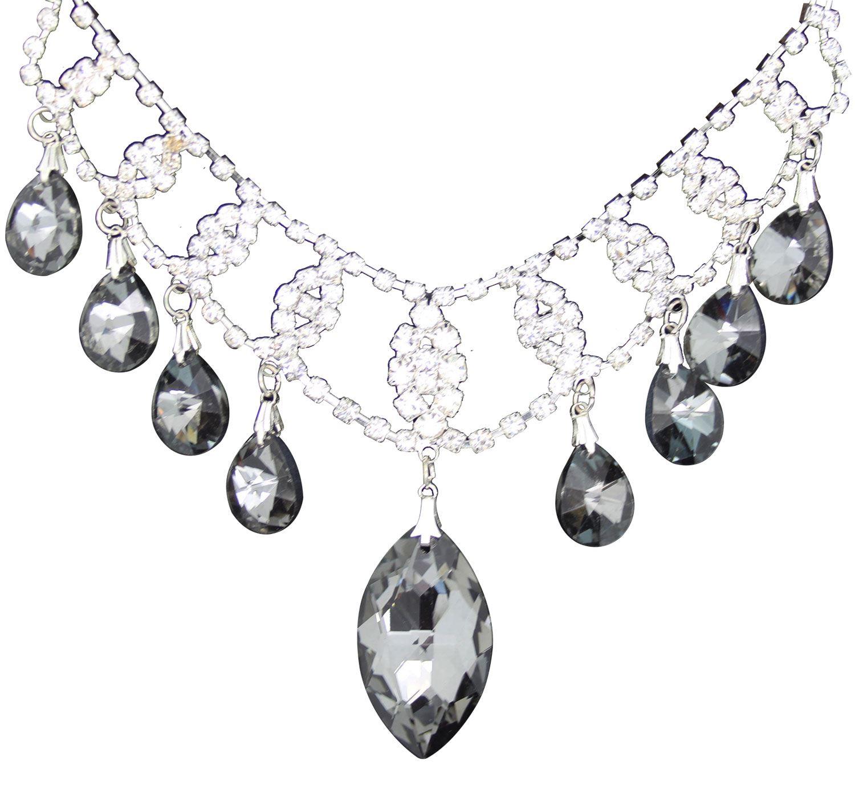 True-Face-Ladies-Women-039-s-Elegant-Earrings-Necklace-Set-Metal-Alloy-Jewellery thumbnail 27