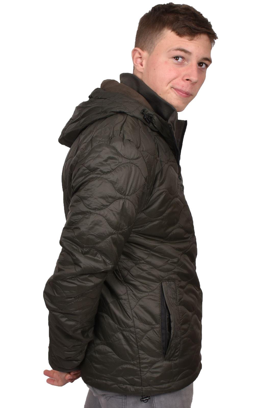 Mens-Smith-amp-Jones-Jacket-Full-Zip-Fleece-Lined-Hooded-Light-Weight-Warm-Coat thumbnail 15