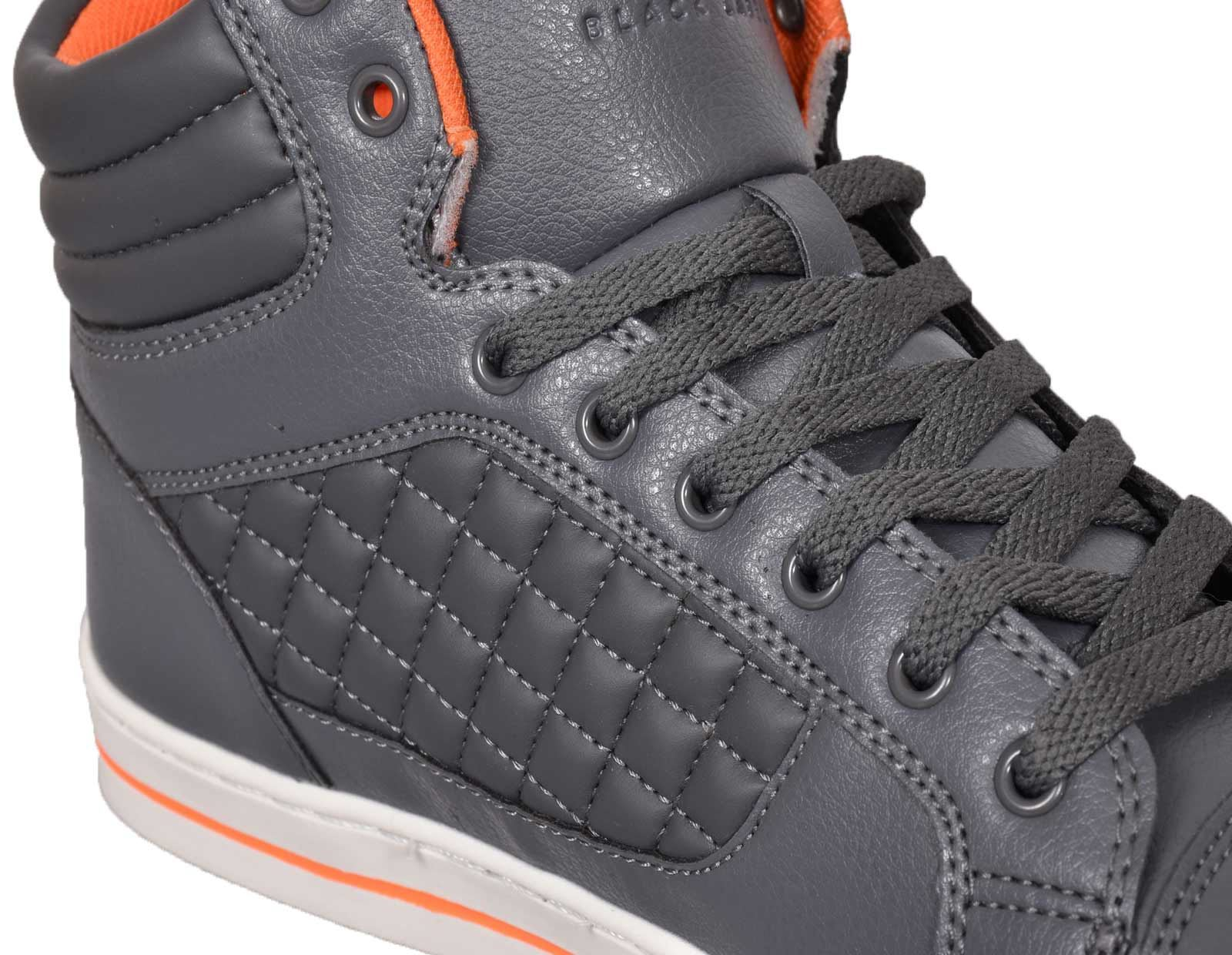 Mens-Trainers-Lace-up-Crosshatch-High-Tops-Ankle-Padded-Shoes-New-UK-Sizes-7-12 thumbnail 17