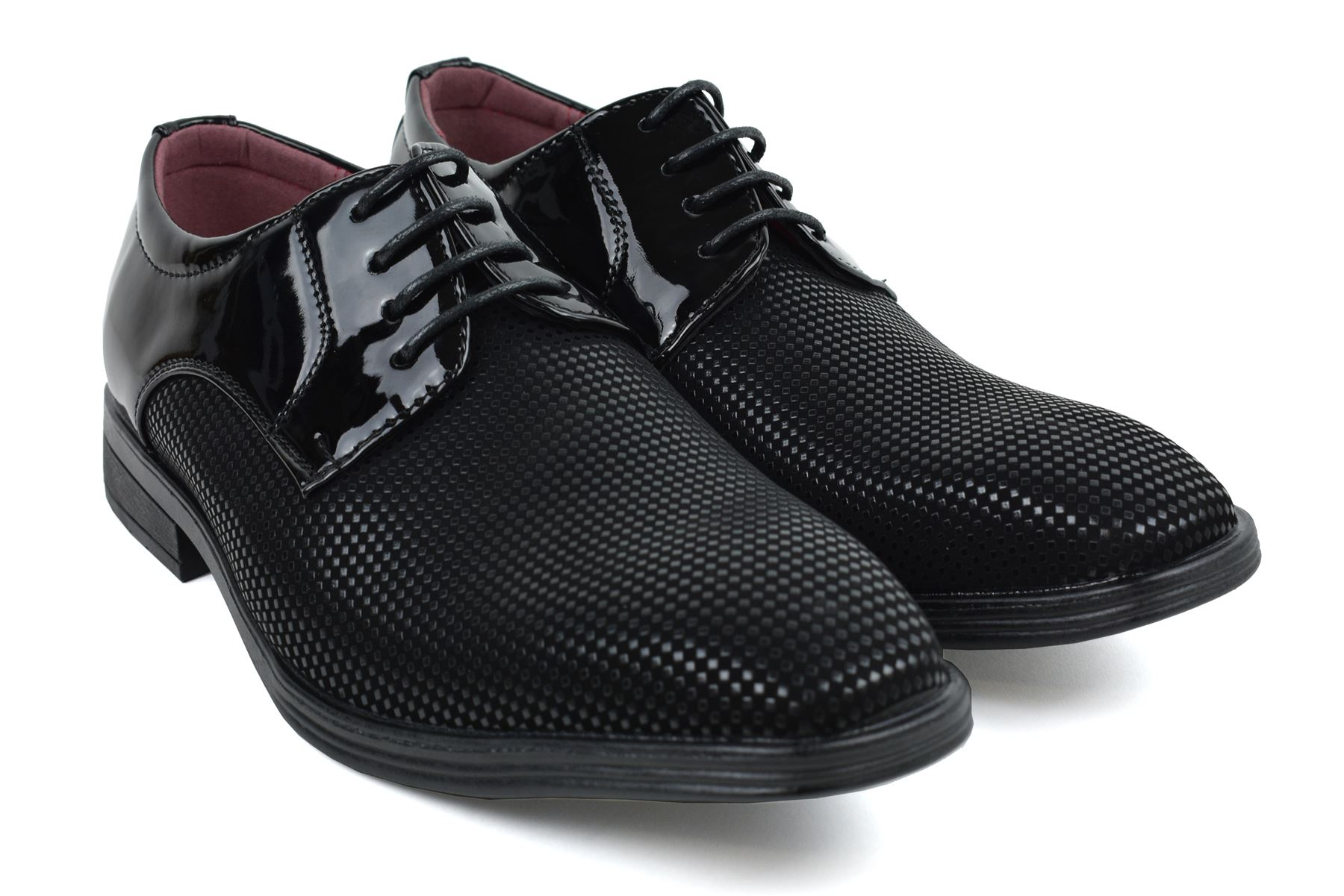 Mens-UK-Style-Leather-Lining-Formal-Office-Wedding-Smart-Work-Brogue-Shoes thumbnail 91