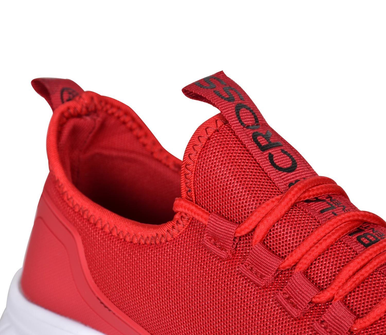 Crosshatch Mens Turbo Designer Lace Up Trainer Lightweight Running Sports Shoe