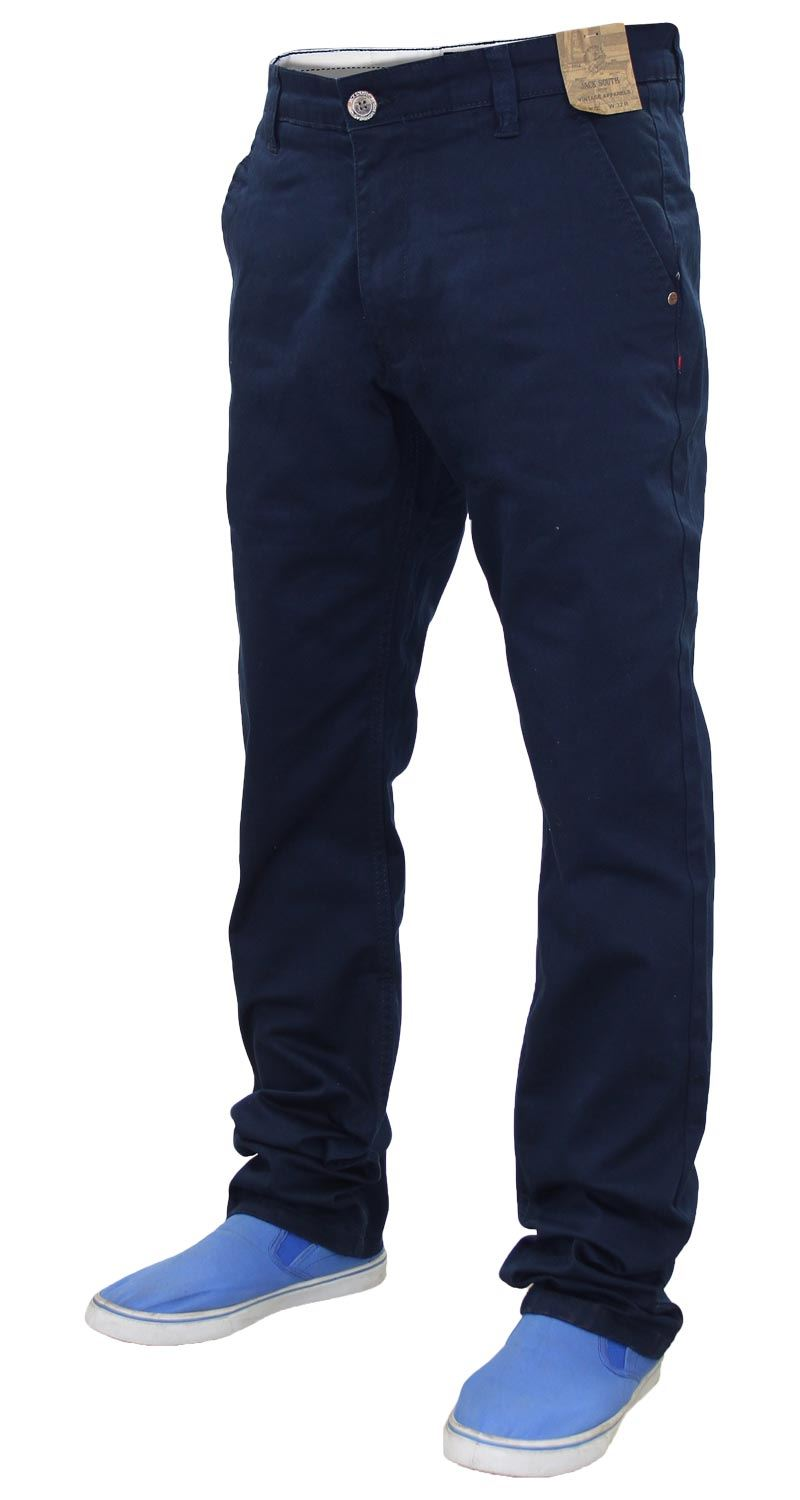 Jacksouth-Mens-Chinos-Trousers-Regular-Fit-Stretch-Cotton-Rich-Twill-Jeans-Pants thumbnail 20