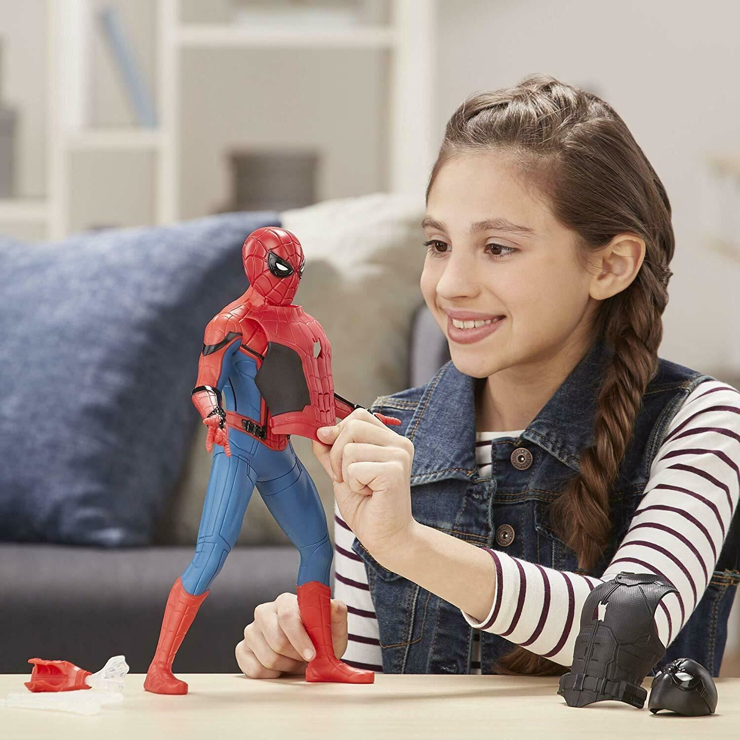 Marvel-Spider-Man-3-in-1-Far-From-Home-Web-Gear-Action-Figure-Toy-2019-Xmas-Gift thumbnail 7