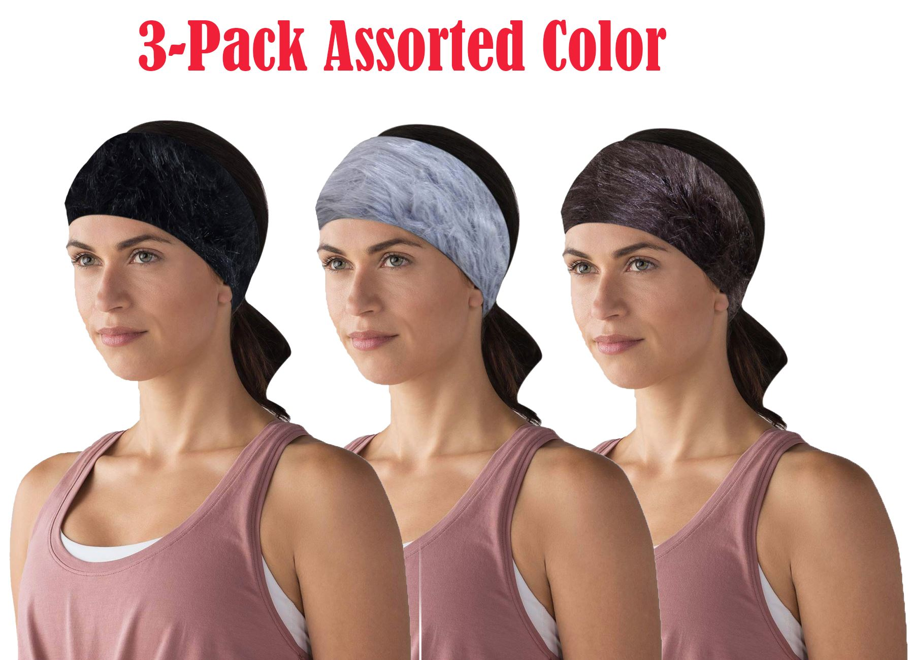Women Plain Knitted Cross Headband Turban Girls Fashion Twisted Two Layers Elastic Fabric Hairband Hair Accessories Headwrap Large Assortment Apparel Accessories