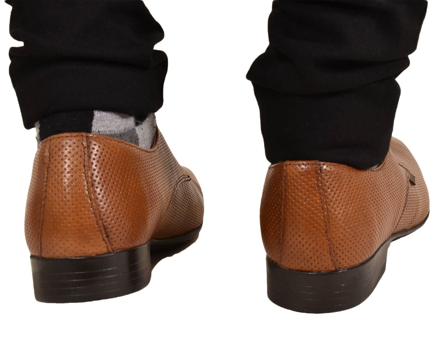 Mens-UK-Style-Leather-Lining-Formal-Office-Wedding-Smart-Work-Brogue-Shoes thumbnail 19