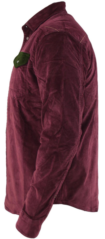Mens-Corduroy-Cotton-Shirt-Long-Sleeve-Casual-Shirts-Jacksouth-Jacket-Top-S-2XL thumbnail 47