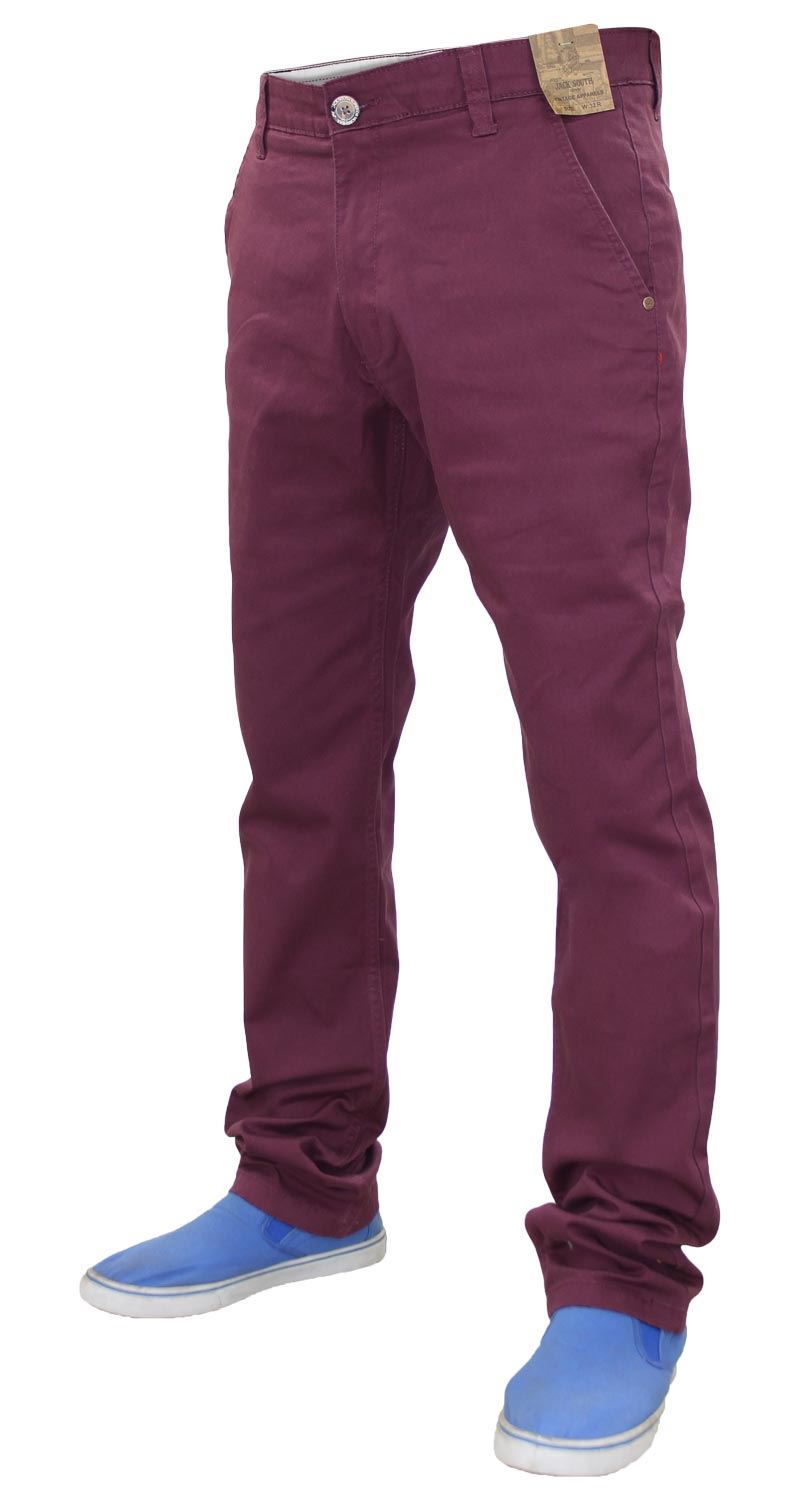 Jacksouth-Mens-Chinos-Trousers-Regular-Fit-Stretch-Cotton-Rich-Twill-Jeans-Pants thumbnail 31