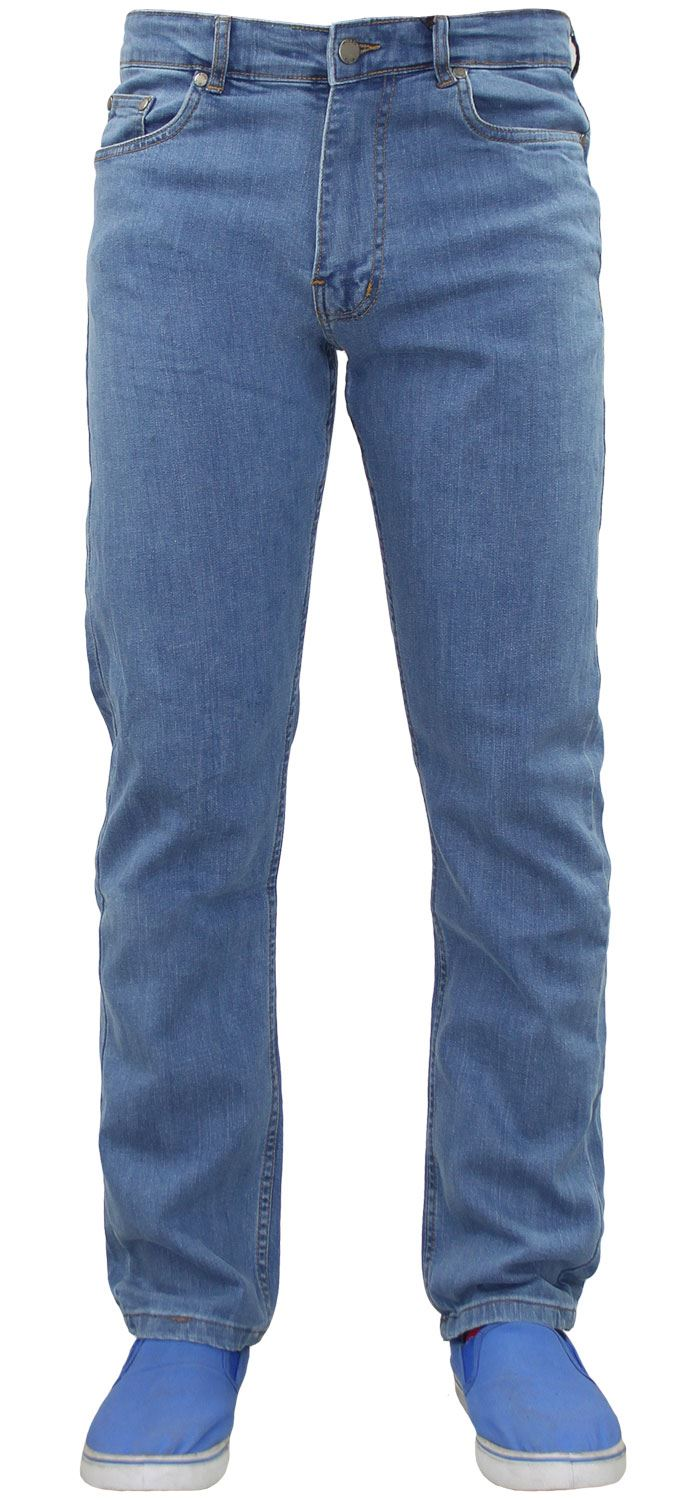 1fc99f71c70 New Mens True face Zip Fly Stretch Slim Fit Denim Jeans Cotton Trousers  Pants