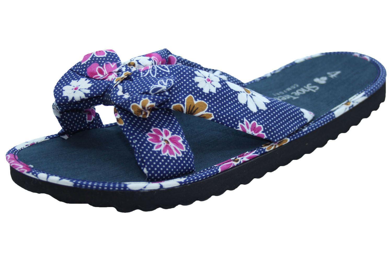Ladies-Mule-Hawaiian-Floral-Womens-Beach-Slipper-Slip-on-Shoes thumbnail 11