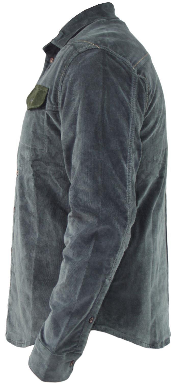 Mens-Corduroy-Cotton-Shirt-Long-Sleeve-Casual-Shirts-Jacksouth-Jacket-Top-S-2XL thumbnail 40