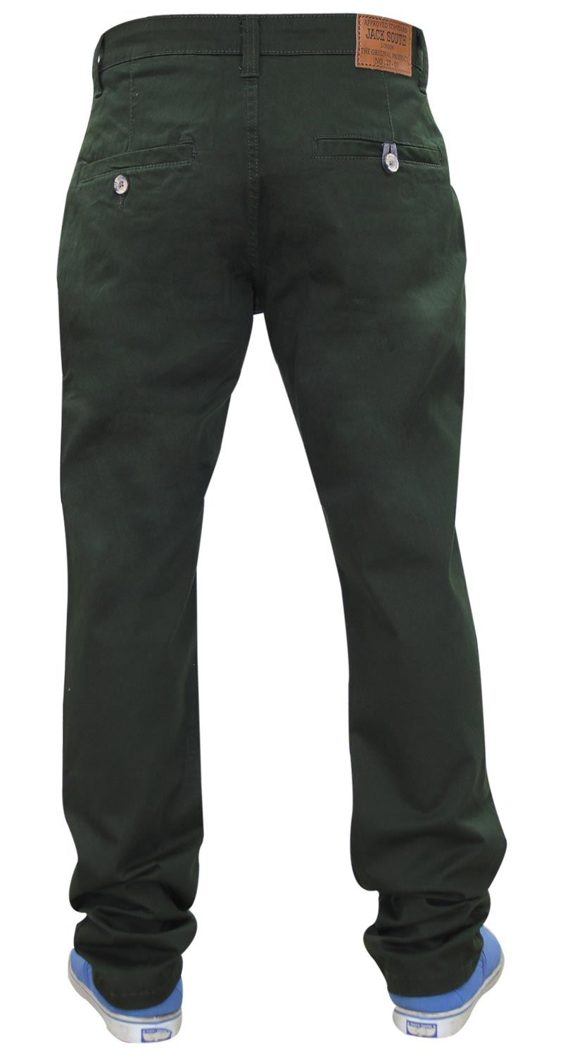 Jacksouth-Mens-Chinos-Trousers-Regular-Fit-Stretch-Cotton-Rich-Twill-Jeans-Pants thumbnail 6