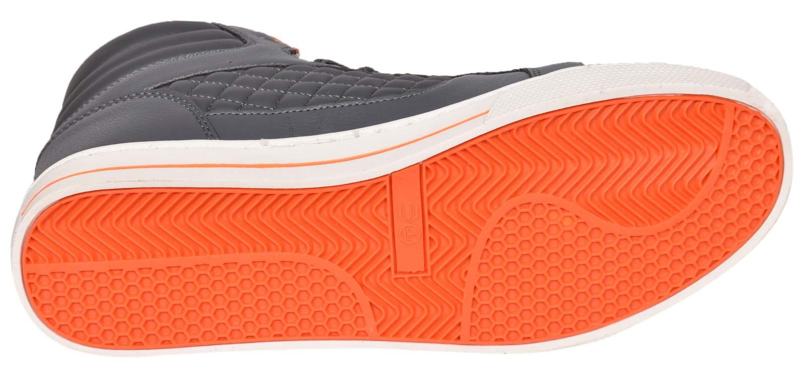 Mens-Trainers-Lace-up-Crosshatch-High-Tops-Ankle-Padded-Shoes-New-UK-Sizes-7-12 thumbnail 15