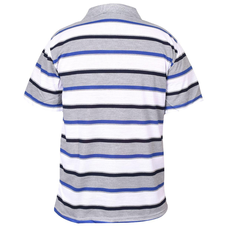 Mens-T-Shirts-Yarn-Dyed-Strip-Pocket-Polo-Shirt-Top-Multi-Colour-Size-M-3XL thumbnail 28