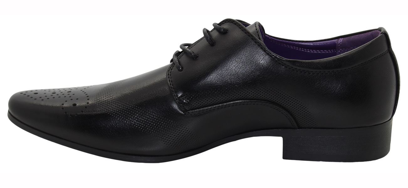 Mens-UK-Style-Leather-Lining-Formal-Office-Wedding-Smart-Work-Brogue-Shoes thumbnail 6