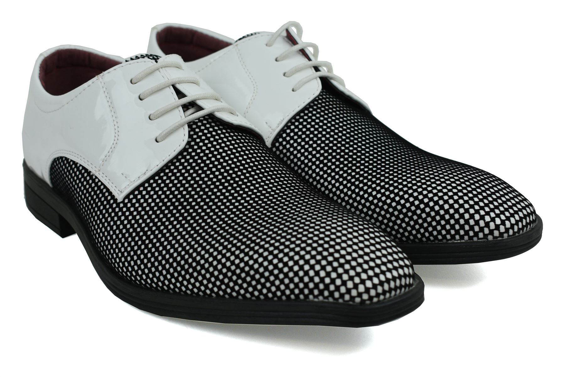 Mens-UK-Style-Leather-Lining-Formal-Office-Wedding-Smart-Work-Brogue-Shoes thumbnail 98