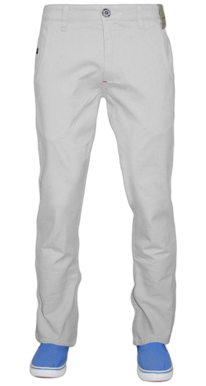 Jeans-da-Uomo-Chino-Stretch-Regular-Fit-Cotone-Rich-Pants-Pantaloni-Jacksouth-Chinos miniatura 20