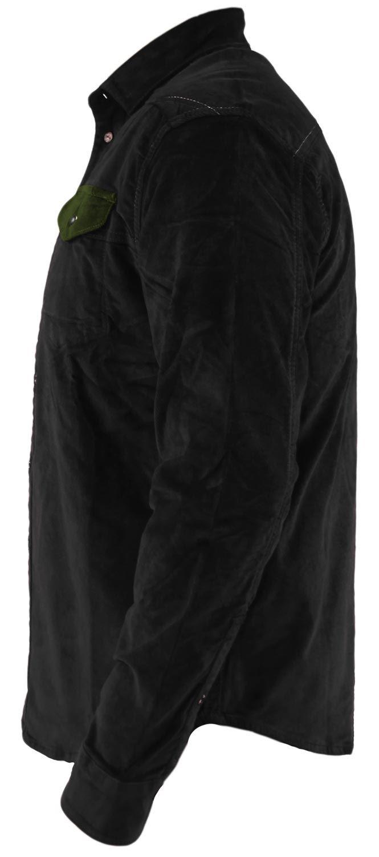 Mens-Corduroy-Cotton-Shirt-Long-Sleeve-Casual-Shirts-Jacksouth-Jacket-Top-S-2XL thumbnail 34