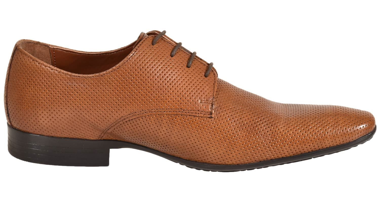 Mens-UK-Style-Leather-Lining-Formal-Office-Wedding-Smart-Work-Brogue-Shoes thumbnail 10