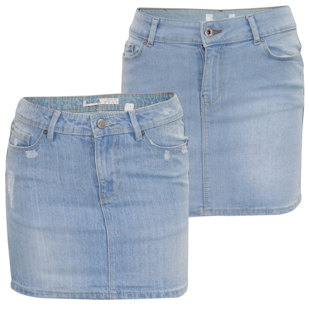 neu damen stretch denim shorts minirock womens sommer. Black Bedroom Furniture Sets. Home Design Ideas