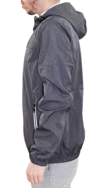 80d28fe63f5c New Mens Kangol Designer Windbreaker Summer Mesh Lined Jacket Hooded ...
