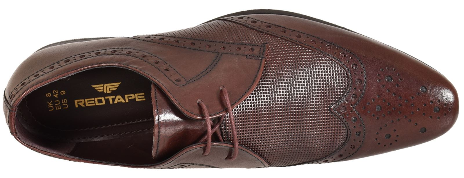 Mens-UK-Style-Leather-Lining-Formal-Office-Wedding-Smart-Work-Brogue-Shoes thumbnail 124