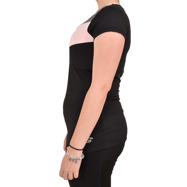 Camiseta-para-mujer-Skechers-Secado-Rapido-Top-senoras-de-Deportes-Activewear-Gimnasio-Fitness-Dance miniatura 4