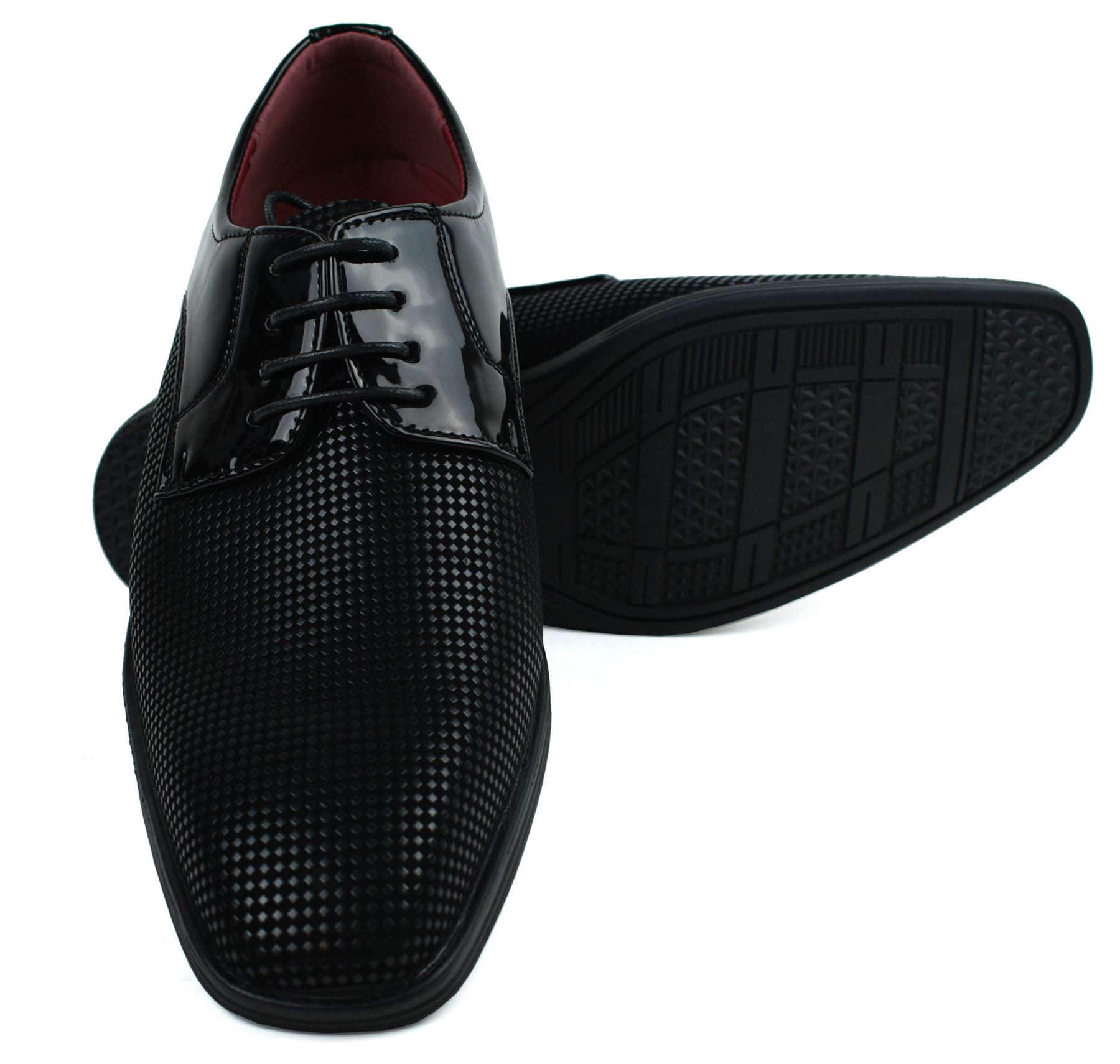 Mens-UK-Style-Leather-Lining-Formal-Office-Wedding-Smart-Work-Brogue-Shoes thumbnail 92
