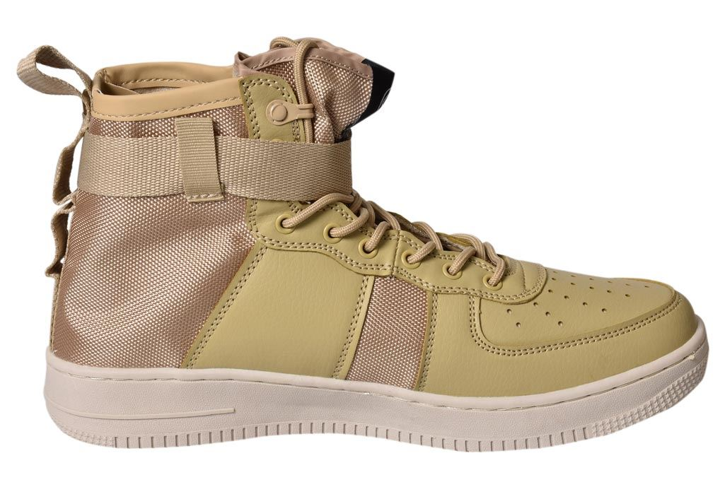 Mens-New-Crosshatch-Fleetfoot-Trainers-Hi-Top-Ankle-Boots-Lace-up-Comfy-Shoes thumbnail 15