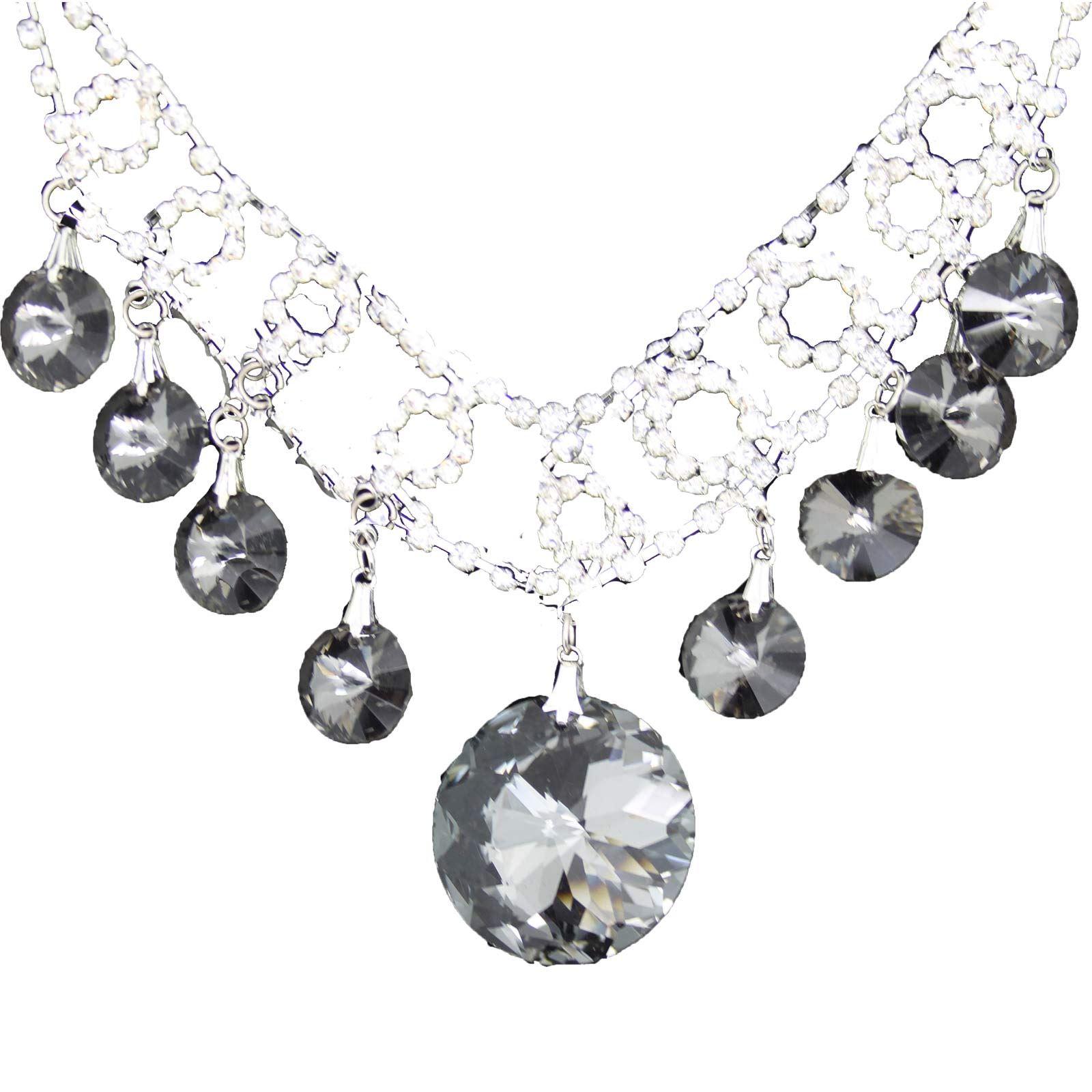 True-Face-Ladies-Women-039-s-Elegant-Earrings-Necklace-Set-Metal-Alloy-Jewellery thumbnail 13