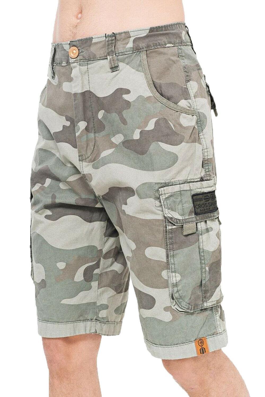 Da Uomo 3//4 Cargo Combat Lungo Pantaloncini Chino Twill Con Cintura 100/% cotone più tasche