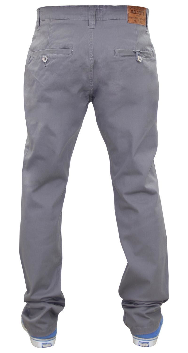 Jacksouth-Mens-Chinos-Trousers-Regular-Fit-Stretch-Cotton-Rich-Twill-Jeans-Pants thumbnail 10