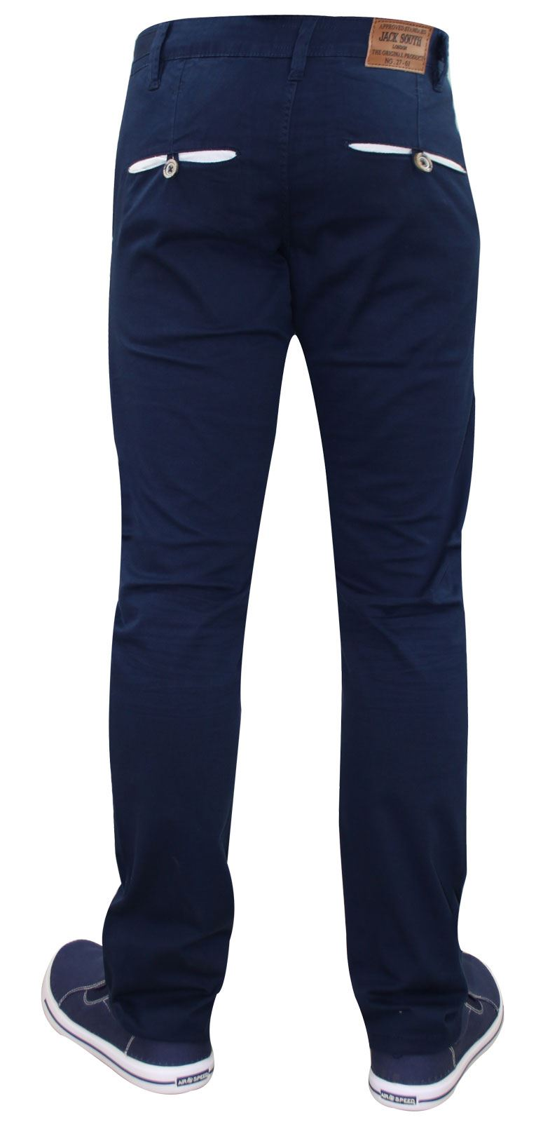 Men-Chinos-Trousers-Regular-Fit-Stretch-Cotton-Jeans-Pants-All-Waist-Sizes thumbnail 17