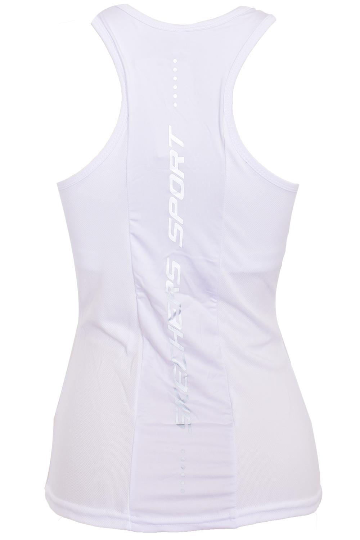 Skechers-senoras-Sujetador-Deportivo-Gimnasio-Atletico-textura-de-malla-Top-Yoga-Chaleco-Active-Wear miniatura 18