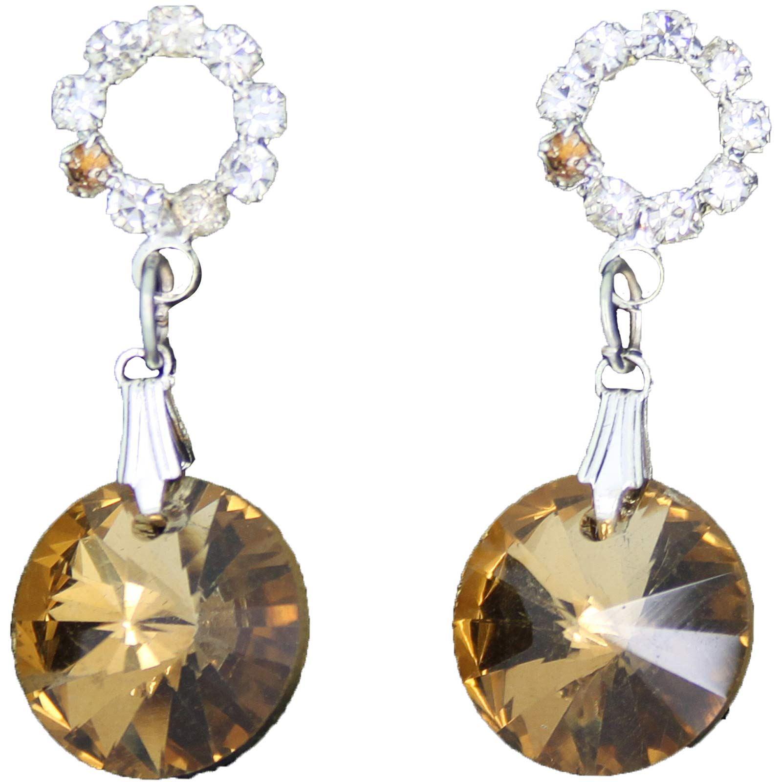 True-Face-Ladies-Women-039-s-Elegant-Earrings-Necklace-Set-Metal-Alloy-Jewellery thumbnail 9