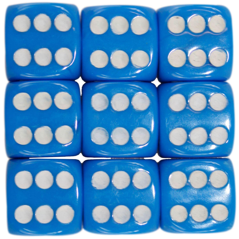 Nouveau-opaque-10-14-16mm-six-sided-spot-dice-D6-rpg-pour-ludo-monopoly-board-games miniature 38
