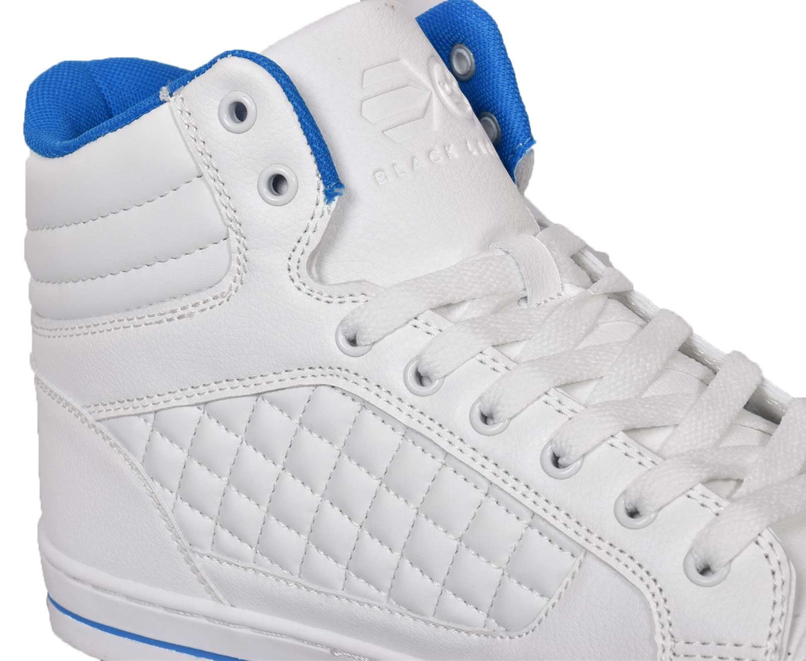 Mens-Trainers-Lace-up-Crosshatch-High-Tops-Ankle-Padded-Shoes-New-UK-Sizes-7-12 thumbnail 24
