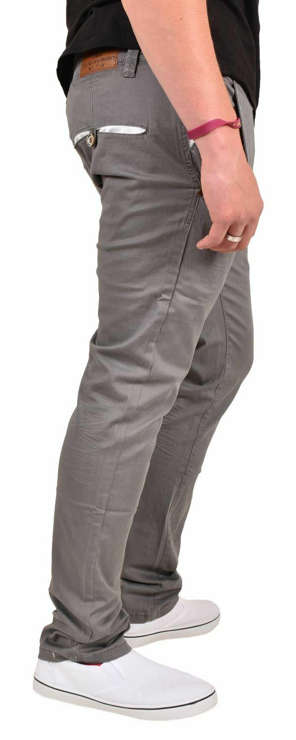 New-Mens-Designer-Jacksouth-Chino-Regular-Fit-Stretch-Cotton-Rich-Twill-Trousers thumbnail 10