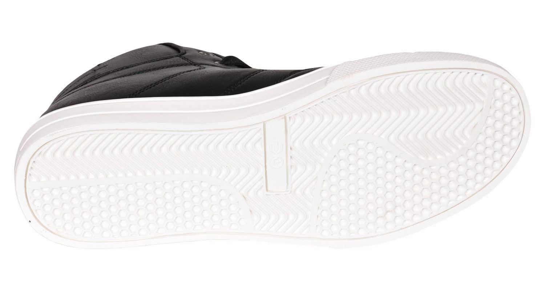 Crosshatch-Para-hombre-Tobillo-Alto-Zapatillas-Sneaker-Con-Cordones-Tapas-Planas-Botas-UK-Tamanos-7 miniatura 10