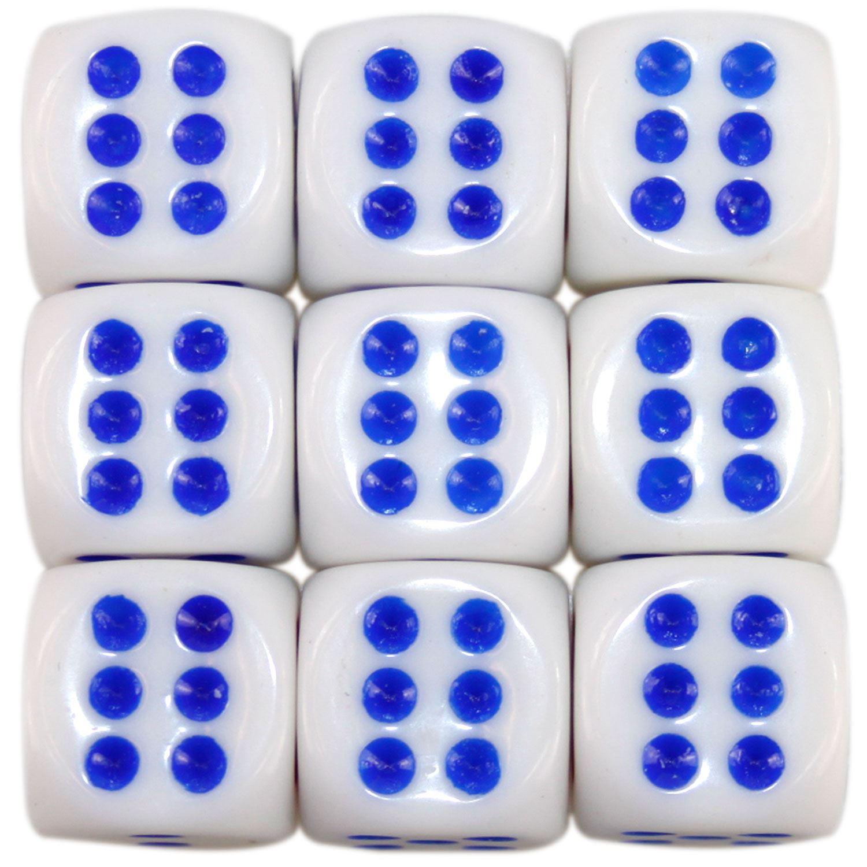 Nouveau-opaque-10-14-16mm-six-sided-spot-dice-D6-rpg-pour-ludo-monopoly-board-games miniature 13
